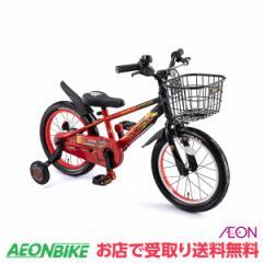 子供用 自転車 幼児車 アイデス ウィズフレンド Smile 16 カーズ レッド 変速なし 16型 お店受取り限定