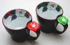 【マグカップ/コップ】 有田焼き 花蒔絵