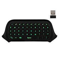 Xbox One ミニ キーボード コントローラー用 ワイヤレス チャットパッド メッセージ ゲーム キーボード/キーパッド ミュート&マイク機能