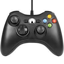 xbox 360コントローラー ゲームパッド Xbox&Slim 360 PC Windows 7適用 (ブラック) MYR