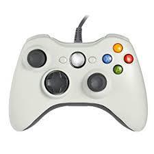 xbox 360コントローラー ゲームパッド Xbox&Slim 360 PC Windows 7適用 (ホワイト) MYR