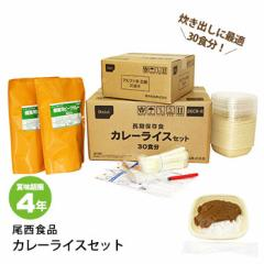 尾西食品 カレーライスセット 30食分 カレー3kg アルファ米セット 26CR-R 【お取り寄せ商品のため2週間ほどかかります】