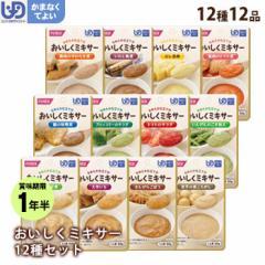 介護食 おいしくミキサー 詰め合わせ12種×12品 セット介護食 ホリカフーズ レトルトミキサー食 噛まなくてよい かまなくよい
