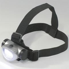 ヘッドライト 8灯白色 LED 電池付き LE-32 ヘッドランプ 災害 避難