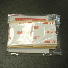 交換用 両面接着テープ アルコールパッド セット LQ-02 リンクストッパーI型 LS-282 LS-284用[M便 1/10]