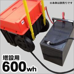増設バッテリー600wh[スマートEポータブルSEP-1000専用]