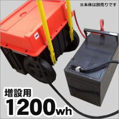 増設バッテリー1200wh[スマートEポータブルSEP-1000専用]