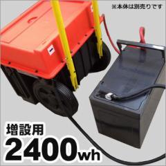 増設バッテリー2400wh[スマートEポータブルSEP-1000専用]
