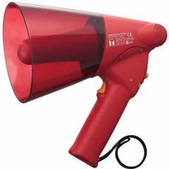 ハンド型メガホン6W サイレン音付 ER-1106S 【送料無料】拡声器 サイレン 防災グッズ 防災用品 避難誘導