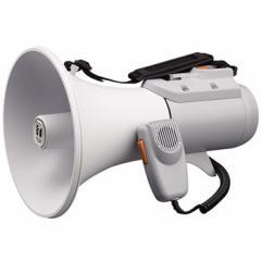 肩掛け 拡声器 ショルダーメガホン 15Wホイッスル音付ER-2115W 【送料無料】ホイッスル 避難誘導