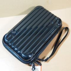 ミニキャリー型 ペンケース(ブラック)06784 ハードケース/バッグ型ポーチ