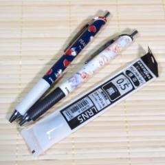 書きやすさバツグン エナージェルボールペン2本&替え芯付きセット(スヌーピー&くまのプーさん/0.5mm)08857-9/筆記具