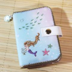 プチフルール ブック型カードケース(人魚姫) 09390/フェアリーテイル 小さめ 28枚収納可