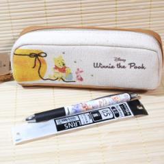 くまのプーさん BOXペンケース(はちみつ)&エナージェルボールペンのセット 21700s-3/替え芯付き 大人文具 ぺんてる