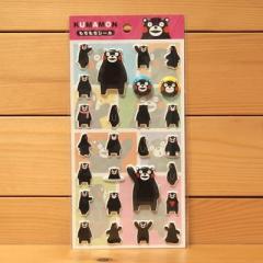 くまモン もちもちシールA/赤 35227 KUMAMON/熊本県のゆるキャラ スーパーもっちりシール ステッカー