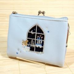 フェアリーテイル 二つ折り財布(シンデレラ/グレー)49113/new カードケース ミニポーチ