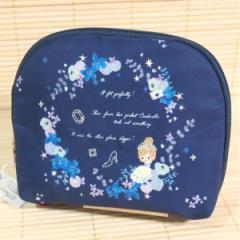 フェアリーテイル ソフトポーチ (シンデレラ)化粧ポーチ 49698/Fairytail 軽くてコンパクト ネイビー