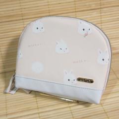 MOFUS(モフズ) スリムポーチ(うさぎ)49882/内ポケット付き もふもふなあにまる マットな合皮