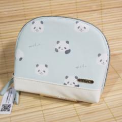 MOFUS(モフズ) スリムポーチ(ぱんだ)49884/内ポケット付き もふもふなあにまる マットな合皮