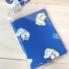 超冷感 クール マフラー タオル (しばんばん)94893/熱中症対策 ひんやりタオル 柴犬 ブルー