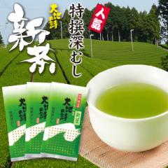 静岡新茶 2020 深蒸し新茶  特撰深むし茶 450g(150g×3袋)メール便 緑茶 お茶 新茶 日本茶 静岡茶 国産 牧之原産 プレゼント 茶葉 お茶