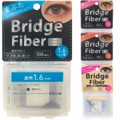 ブリッジファイバー(100本入り)(送料無料)二重テープ アイプチ 二重まぶた ふたえテープ くせ付け FD big_bc