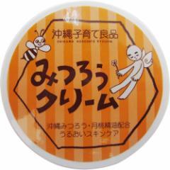 沖縄子育て良品 みつろうクリーム (25g) スキンケアクリーム 保湿