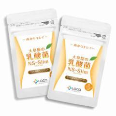 ラクア 大草原の乳酸菌NS-Slim(36粒)×2セット