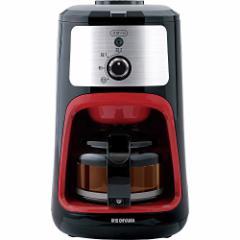 アイリスオーヤマ コーヒーメーカー 全自動 メッシュフィルター付き 1~4杯用 ブラック IAC-A600