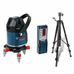 在庫有 超特価 セール ボッシュ レーザー墨出し器 GLL8-40ESET 水平4ライン、垂直4ライン、鉛直、地墨フルライン 受光器・三脚・ケース付