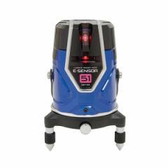 シンワ レーザーロボ 71505 Neo E Sensor 51 本体のみ 縦・横・大矩・通り芯x2・地墨 レッドレーザー墨出し器