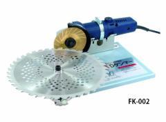 在庫有【フジ鋼業】DケンマーSP チップソー研磨機 FK-002 低速ディスクグラインダー付
