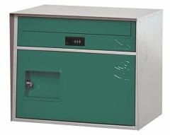 直送・代引不可 KGY工業 宅配ボックス リシム キューブ THB-CB2 GR グリーン 前入れ前出し 本体サイズH330xW405xD320mm 本体重量約5.0kg