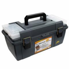 在 便利もん+ 652 工具箱 小物ケース付 50cm グレー V216524 工具箱 BOX True Value トゥルーバリュー PLANO MOLDING CO プラノ