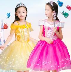 ハロウィン衣装 女の子 プリンセスドレス 子供用ドレス キッズ コスプレ 衣装 仮装 ハロウィン コスチューム ドレス ワンピース なりきり