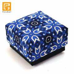 BOX SET(Batik blue) オーガンジー付き(単品での購入不可・ガムランボールと一緒に必要数のみでご購入下さい)  ギフトボックス 贈り物