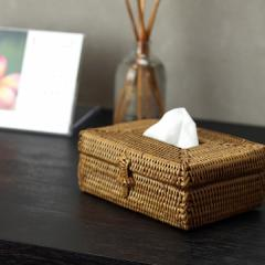 アタ ポケットティッシュケース   アジアン雑貨 バリ おしゃれ 小さい ドレッサー かご アタ製品 バリ島 バリ雑貨