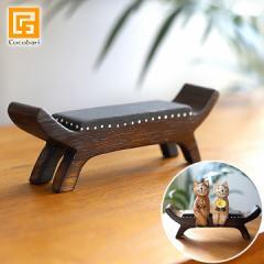 ミニチュア バリ家具(カルティニチェア) アジアン家具 バリ風 バリネコ バリ猫 イス フィギア 撮影用 イス 小さい