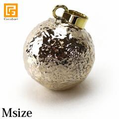 ガムランボール SENANG(スナン)(M) BRASS(ブラス)  メール便対応可   真鍮 ブラス 男性  バリ島 ネックレス キーホルダー お守り 鈴 開運