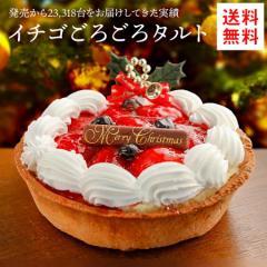 ケーキ クリスマスケーキ 送料無料 フルーツタルト イチゴタルトケーキ 5号 タルト お取り寄せ ギフト プレゼント 2019