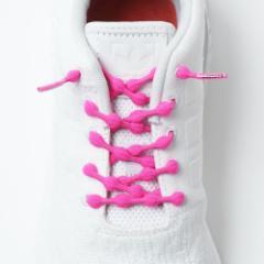 靴紐 結ばない キャタピラン キャタピー CATERPY くつひも キャタピラン+ くつひも P75-7PP ピーチピンク 75cm