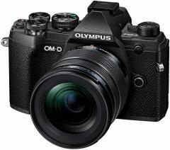 オリンパス デジカメ一眼レフ OM-D E-M5 Mark?V 12-45mmF4.0 PROキット ブラック