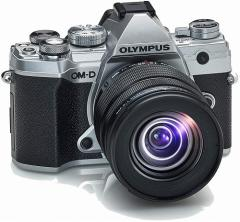 オリンパス 一眼レフカメラ 軽量 OM-D E-M5 Mark ?V 12-45mm F4.0 PRO キット シルバー