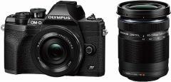 OLYMPUS ミラーレス一眼カメラ OM-D E-M10 MarkIV EZダブルズームキット ブラック