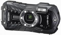 デジタルカメラ RICOH 防水カメラ 防塵 リコー ブラック WG-50BK