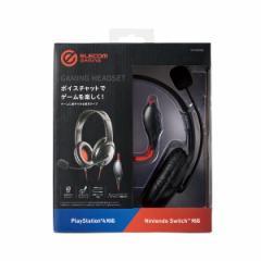 両耳ゲーミングヘッドセット PS4/Switch対応 エレコム HS-GM20BK