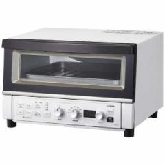 コンベクションオーブン&トースター やきたて 断熱Wガラス 熱風コンベクション 黒遠赤ヒーター マットホワイト タイガー KAT-A130