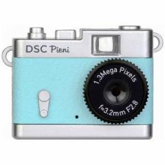 デジタルカメラ DSCPieni 131万画素動画・静止画撮影可能 スカイブルー ケンコー・トキナー  DSC-PIENI-SB