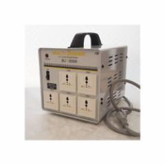 スワロー電機 受注生産のため納期約2週間100〜240V対応 マルチ変圧器 2000W SU-2000