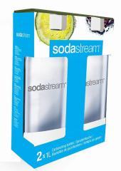 ソーダストリーム 専用ボトル1L 2本セット (ホワイト)
